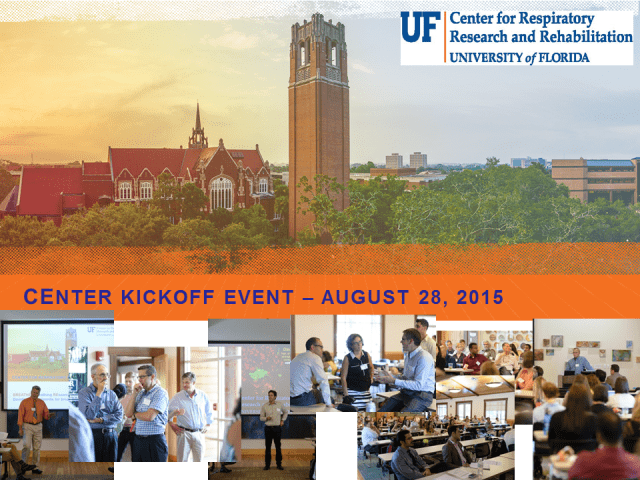 Center Kickoff Event August 28_2015